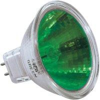 Halogenová žárovka, 12 V, 20 W, GU5.3, 2500 h, zelená