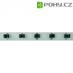 Lišta s držáky Prax 5-25W, Ø 25 mm, 550 x 60 mm