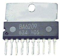 BA6209 - řízení motoru DC, SIP10