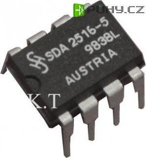 SDA2516-5, EEPROM 128x8bit, I2C, DIL8