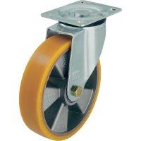 Otočné kolečko s konstrukční deskou, Ø 160 mm, Blickle 265868, LK-ALTH 160K