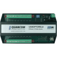 USB modul 8 relé/8 optik, typ B