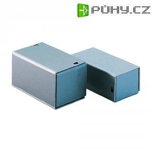 Malé hliníkové pouzdro TEKO 2 A, (š x v x h) 57 x 28 x 72 mm, stříbrná (A)