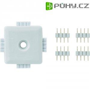 X konektor k LED dekoračnímu osvětlení Paulmann YourLED, bílá (70282)