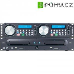 Dvojitý CD/MP3 prehrávac Mc Crypt CMP-950RUSB