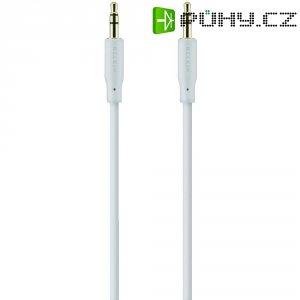 Připojovací kabel Belkin jack zástr. 3.5 mm/jack zástr. 3.5 mm, 5 m, bílý