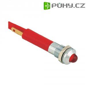 Signálka Signal Construct SWQU08428CR, 230 V/AC, modrá