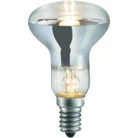Halogenová žárovka Sygonix, E14, 28 W, 85 mm, stmívatelná, teplá bílá