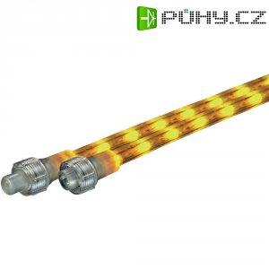Prodloužení pro světelnou hadici s LED, 6 m, žlutá