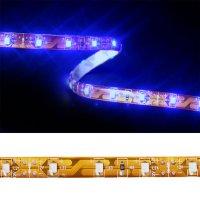 LED pásek 3528 60LED/m IP65 4.8W/m modrá (1ks=5cm)