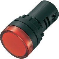LED signálka AD16-22DS/24V/B, LED signálka, 24 V/DC / 24 V/AC, modrá