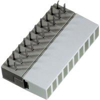 LED řádek 10nás. Signal Construct, ZAEW1031, 5 mm, žlutá