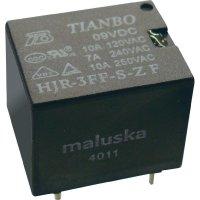 Miniaturní relé Tianbo Electronics HJR-3FF-12VDC-S-ZF, 15 A , 30 V/DC/ 250 V/AC , 2770 VA/ 240 W