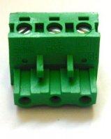 PCB konektor PH7,5/3 šroub, zelený