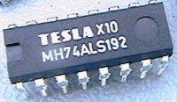 74ALS192 progr.vratný čítač s nulováním, DIL16 /MH74ALS192,MH54ALS192/