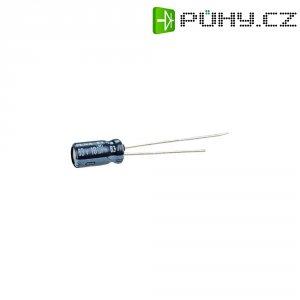 Kondenzátor elektrolytický, 10 µF, 63 V, 20 %, 11 x 5 mm
