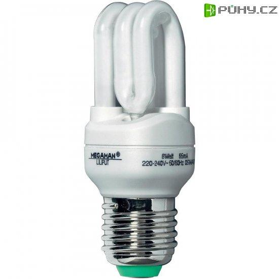 Úsporná žárovka trubková Megaman Bestseller Liliput E27, 8 W, teplá bílá - Kliknutím na obrázek zavřete