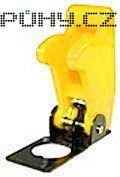 Kryt výklopný na páčkový vypínač žlutý