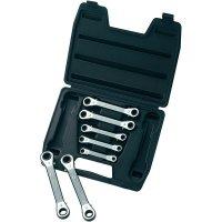 Sada ráčnových očkových klíčů Toolcraft, 6 - 19 mm, 7-dílná