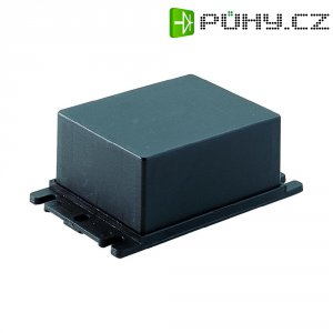 Plastová modulová skříň, (d x š x v) 64 x 53 x 28 mm, černá (AMG 2)