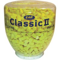 Špunty do uší EAR Classic II, PD-01-200, 28 dB, 500 párů, žlutá