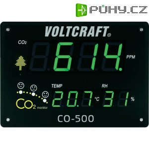 Panelový měřič kvality ovzduší Voltcraft CO-500
