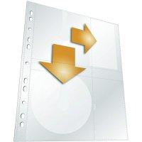 Závěsný obal A4 na CD/DVD, 5 ks