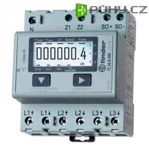 Třífázový elektroměr Finder 7E.56.8.400.0010, 1500 A MID, na DIN lištu