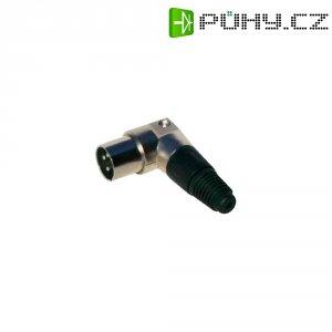 Kabelový konektor kovový zahnutý XLR (M)