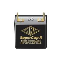 SUPERCAP 200F 2,5V 20%