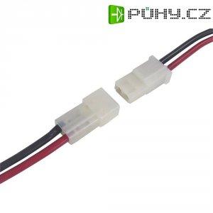 Napájecí kabel Modelcraft, AMP zástrčka, 2,5 mm², 1 pár