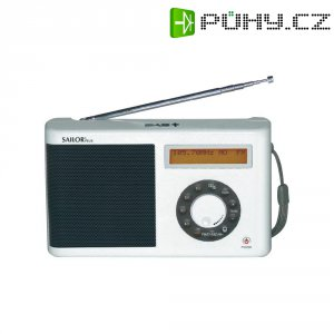 DAB/DAB+ rádio Sailor Plus SA-123W, bílá