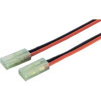 Napájecí kabel Modelcraft, Mini-Tamiya konektor, 1,5 mm², 1 pár