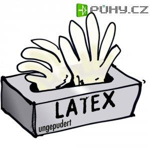 Jednorázové rukavice Leipold + Döhle, nepudřené,vel. M, latex, 100 ks