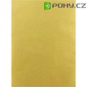 Samolepící polyesterová fólie, 297 x 210 mm, zlatá