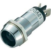 LED signálka SCI R9-86L-01-WU, vnitřní reflektor 16 mm, 12 V/DC, modrá