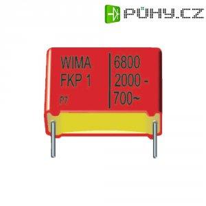 Foliový kondenzátor FKP Wima, 6800 pF, 1250 V, 10 %, 18 x 8 x 15 mm