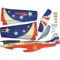 RC model letadla Hacker Mustang Miss America, 840 mm, ARF