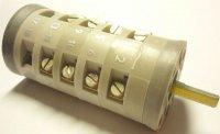 Vačkový spínač VS10 2353 C8, 10A/380V~, 3 polohy 45°
