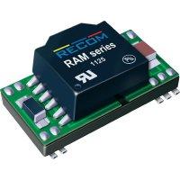 DC/DC měnič Recom RAM-2405S/H (10015901), vstup 24 V/DC, výstup 5 V/DC, 200 mA, 1 W
