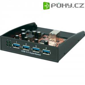 Přední zásuvný panel s USB 3.0, 4-portový