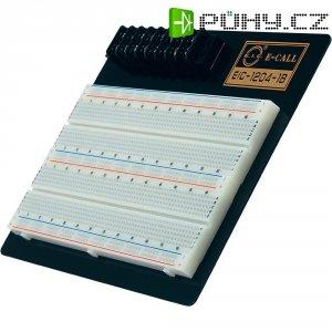 Kontaktní nepájivé pole EIC-1204-1B, 165 x 100 x 8,5 mm, 2x8 pólů