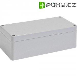 Skříň Euromas Bopla, (d x š x v) 160 x 80 x 55 mm, šedá (T 220)