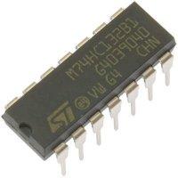 74HC132 4x 2vst. NAND, DIL14