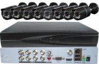 Kamerový systém 720P JW208K-V10 (DVR+8kamer CMOS)