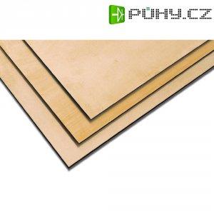 Mosazná deska Modelcraft, 400 x 200 x 2 mm