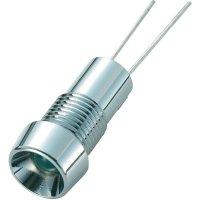 LED signálka SCI R9-126L 24V, LED vnitřní reflektor 5 mm, zelená