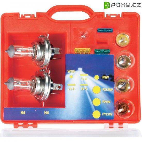 Kufřík s náhradními žárovkami H4 - Kliknutím na obrázek zavřete