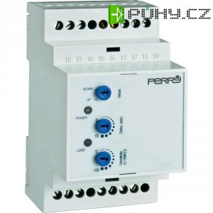 Hladinový senzor na DIN lištu Perry Electric 24/117/230 V 1CLRLEME/3, šedý
