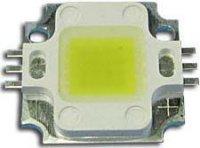 LED 10W bílá teplá 3000K, 600lm/1050mA,120°, JSL-S10W-WW